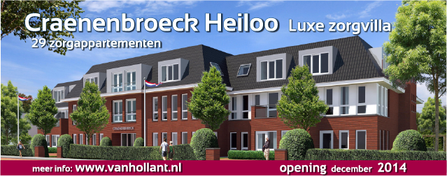 PERSBERICHT: Bouw Zorgvilla Craenenbroeck officieel van start