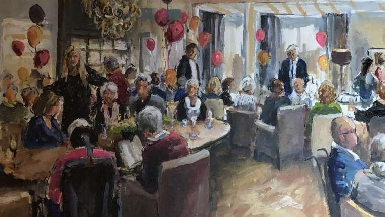 Unieke sfeer tijdens 5-jarig jubileum Craenenbroeck